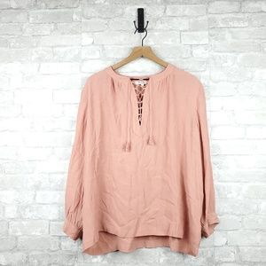 Madewell Peasant Blouse | Size L